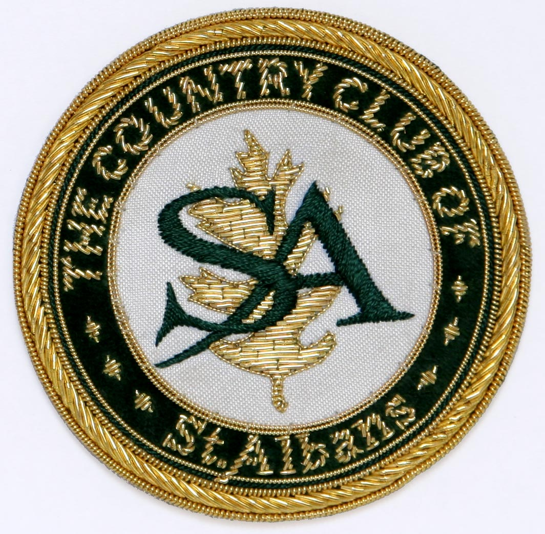 Blazer Crest for St. Albans Country Club