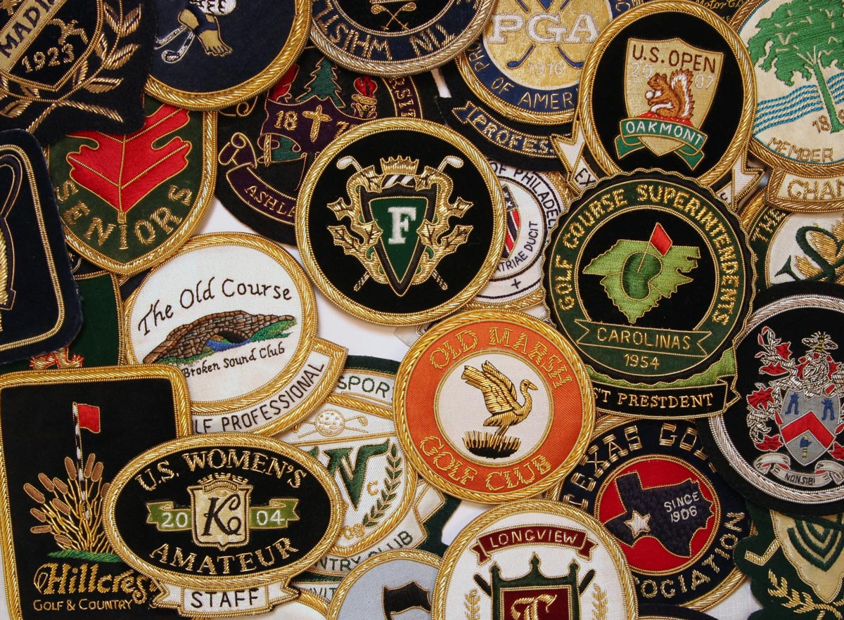 Golf Blazer Crest Assortment